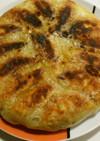 白菜とネギで作る手作り餃子