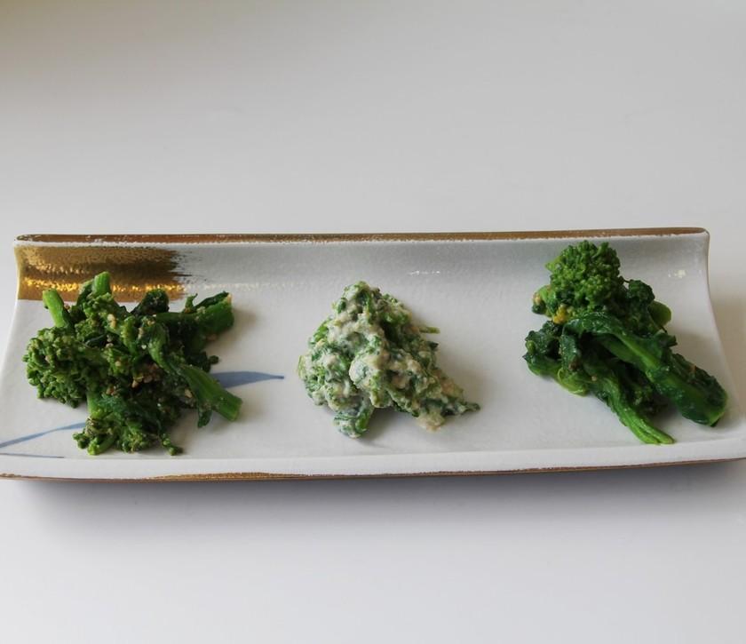 春をいただきます!花菜レシピ3種