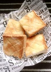 シュガーバター⭐トースト♬軽食にも♬の写真