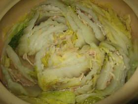 さむ~い日には一番!白菜の土鍋蒸し