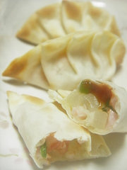 パリッ★☆魚肉deヘルシー餃子≪ピザ風≫の写真