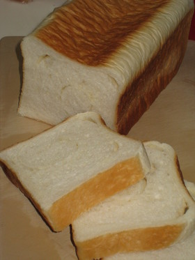 ケチケチバター風味食パン☆HBで一次発酵