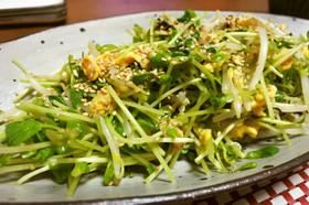 豆苗たまご春色温サラダ