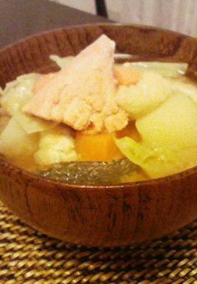 鮭のお味噌汁