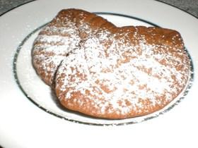 ホットケーキミックスリーフココアクッキー