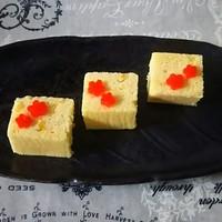 和のおやつ⑪柚子香る浮島☆冬の蒸しケーキ