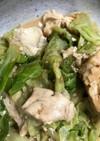 ささみキャベツの味噌マヨ(無水鍋QC使用