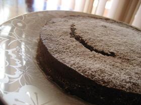 チョコとバナナのしっとりケーキ