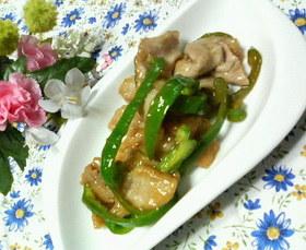 お弁当に✿豚肉とピーマンの❀甘酢炒め✿