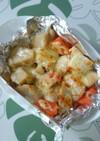 余った煮物de里芋のマヨチーズ焼き♪