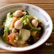 [時短 中華丼 白菜たっぷりヘルシー]の写真