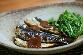 丸ごと食べれる鰯の生姜煮☆(サンマでも)