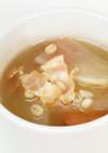 押し麦と大根のスープ