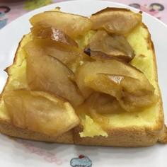 栗きんとんリメイク♡クリチ&林檎トースト