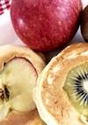 りんごとキウイのパンケーキ