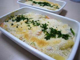 桜海老と野菜のグラタン