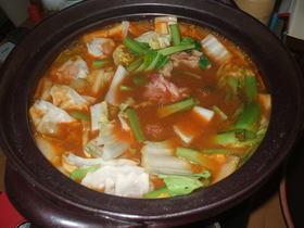 味噌キムチ鍋スープ(ストレートタイプ)