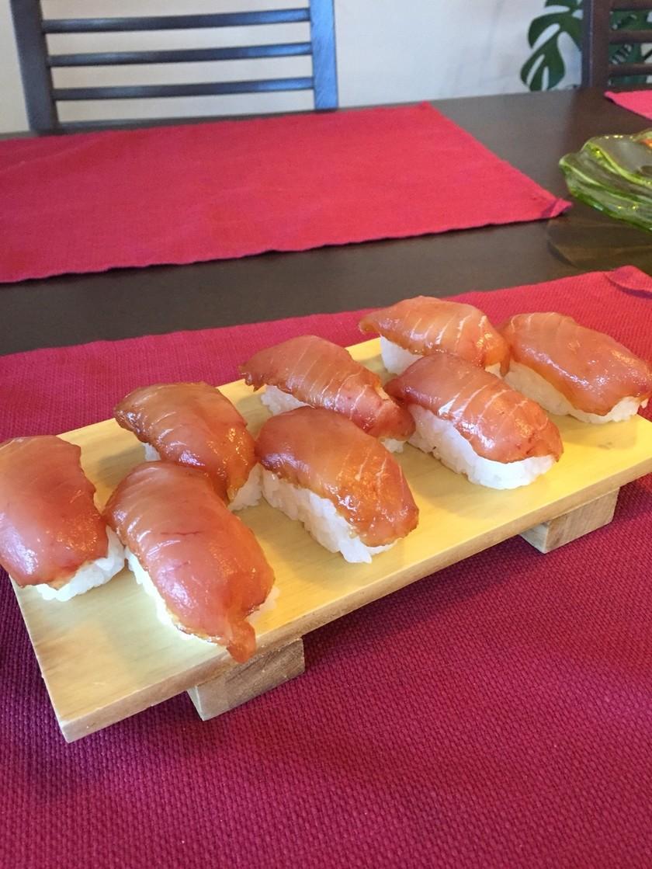 余ったお刺身でもOK!島寿司
