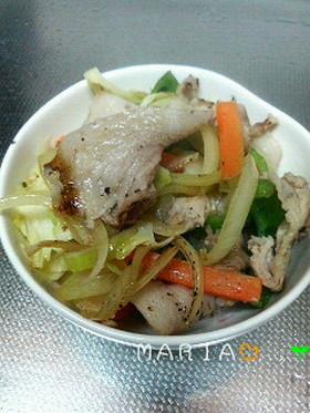 ✿シンプルが一番♪母の料理♪野菜炒め✿