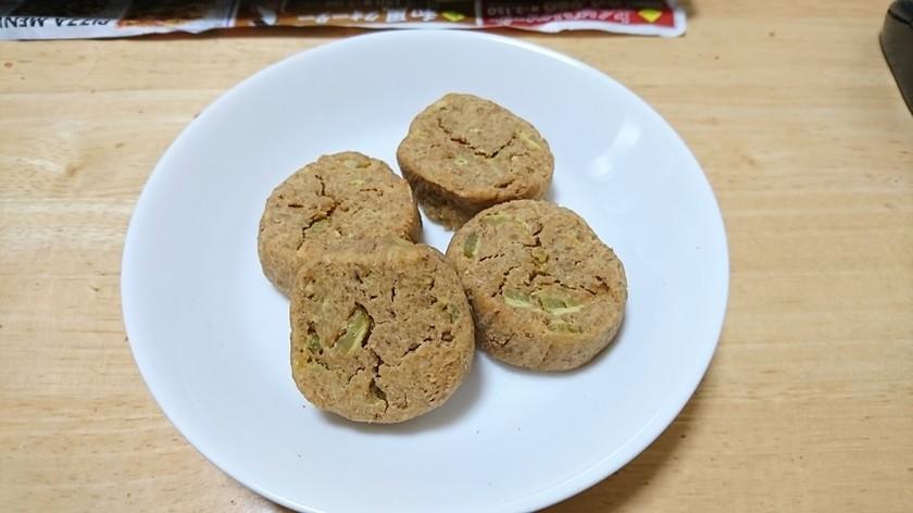 食物繊維いっぱい【さつま芋クッキー】