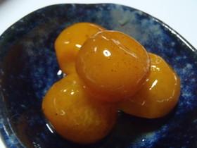 不老長寿の柑橘‥「タチバナの酢甘露煮」