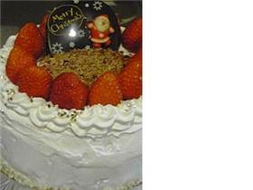 2007年クリスマスケーキデコレーション