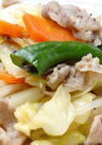 時短☆簡単 基本の肉野菜炒め
