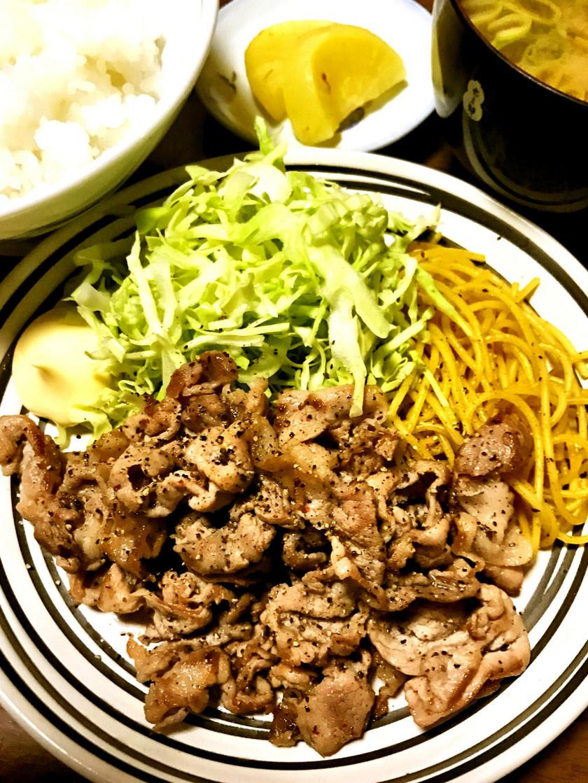 豚肉からし焼き『洋包丁』再現レシピ