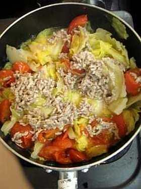 ヘルシー白菜煮