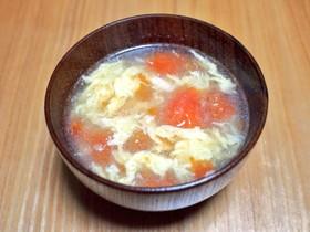 トマトとたまごのスープ