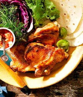 腸活美人!塩麹味噌漬けの鶏胸肉照り焼き