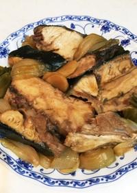 ブリのあら煮。フライパンで簡単(^^)♪