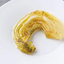 白菜のブレゼのポワレ
