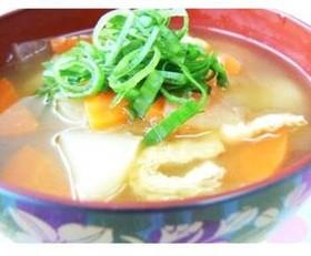 【なんたんかんたん料理】和風カレースープ