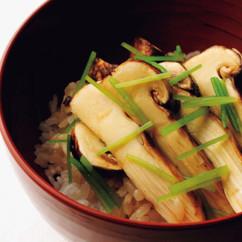 焼き松茸丼
