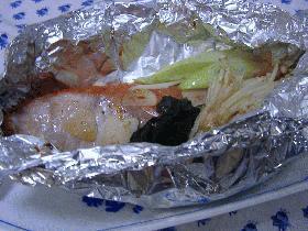 金目鯛のオーブン蒸し焼き