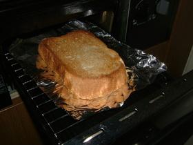 魚焼きグリルで♪カリフワトースト