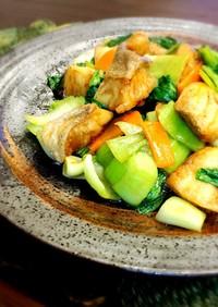 ♡鱈とチンゲン菜の中華風炒め♡