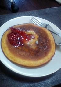 にんじんジュースでパンケーキ!