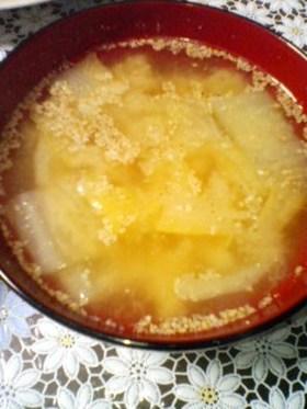ゴマ味噌汁