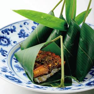 鰻山椒煮笹巻きごはん