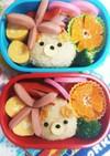 幼稚園(年少)双子のお弁当12