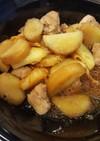 さつま芋と鳥もも肉のミカンの皮煮