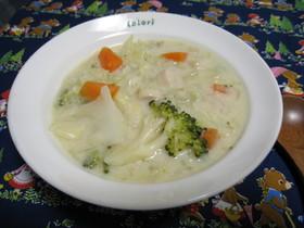 野菜たっぷり!豆乳のクリームスープ