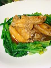 鶏手羽の煮込み~ピリ辛山椒風味~の写真