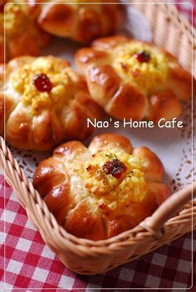 お花✿のタルタル惣菜パン