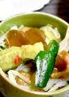 搾菜ときゅうりともやしのサラダ