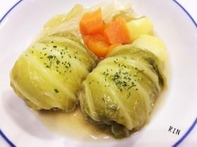 熱々♡ほっこりロール白菜~ポトフ風~