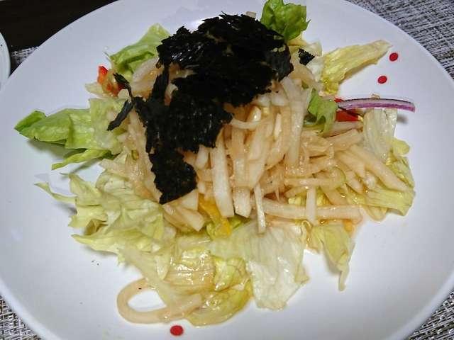 大根 酢 サラダ
