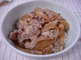 チーズ風☆牛丼屋さんの豚丼!!